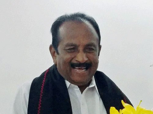 Vaiko accuses BJP of trying to 'impose' Sanskrit