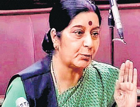 Indian captives in Iraq safe: Sushma Swaraj