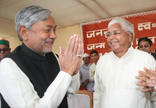 JD(U), RJD and Cong reach agreement for Bihar bypoll