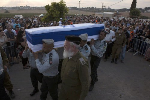 Thousands mourn death of Indian-origin Israeli soldier