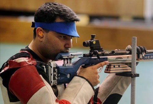 Shooter Narang wins men's 50m rifle prone silver