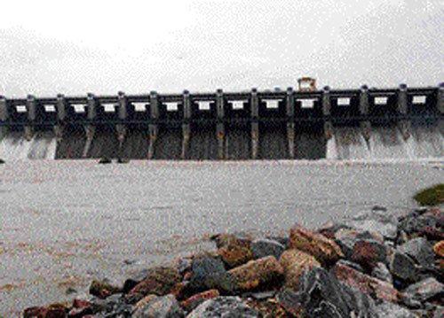Almatti dam almost full