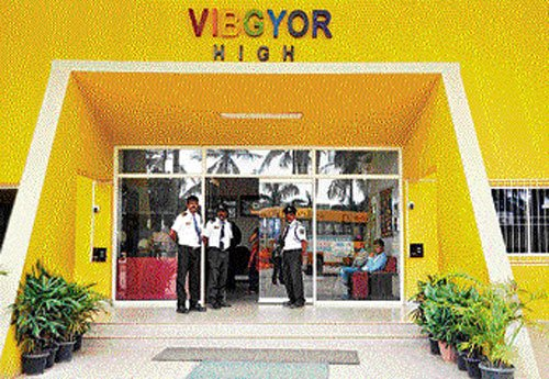 Many parents shift their wards from Vibgyor High school