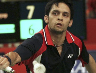 Indian shuttler Kashyap through to men's singles final