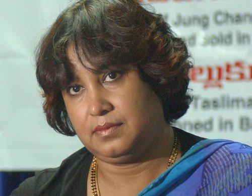 Taslima meets Rajnath, assured of visa extension