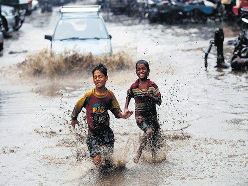 Heavy rain pares down monsoon deficit