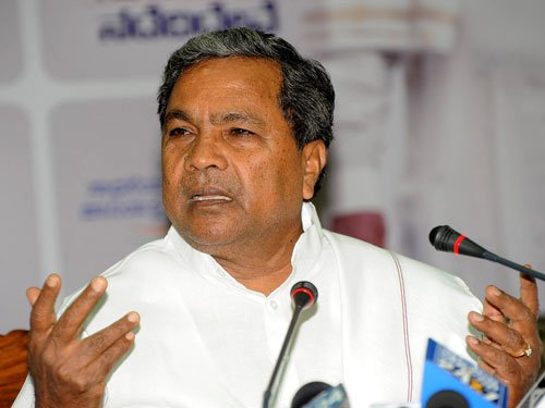 Govt hasn't done much, admits Siddu