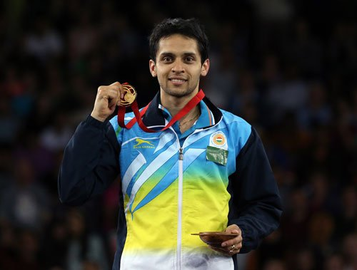 Kashyap wins gold in men's singles badminton after 32 years