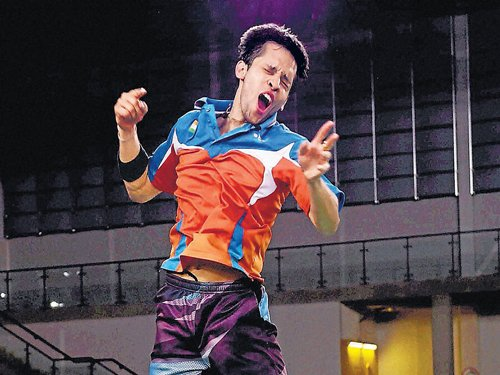 Kashyap takes a golden step