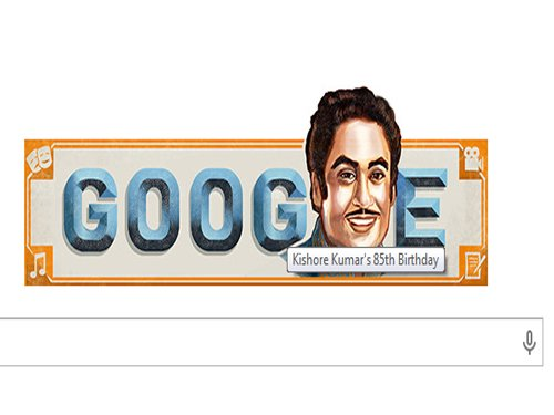 Kishore Kumar's 85th birth anniversary: Google doodle pays tribute