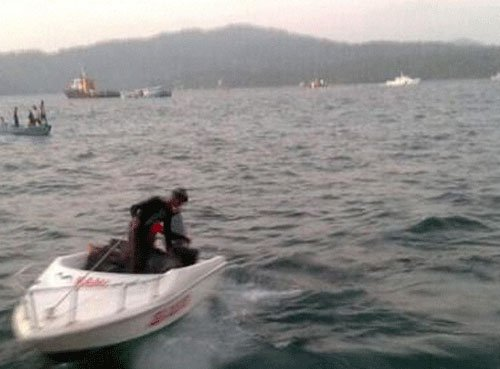 Lost trawlers traced, seven missing