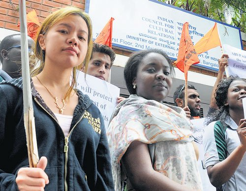 Foreign students oppose ICCR note