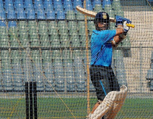 Sachin didn't face a single ball in nets in 2003 WC: Dravid