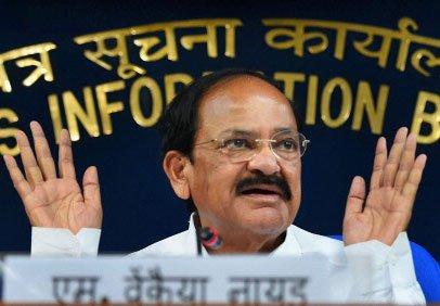 'Best' solution found to UPSC test row, says Venkaiah