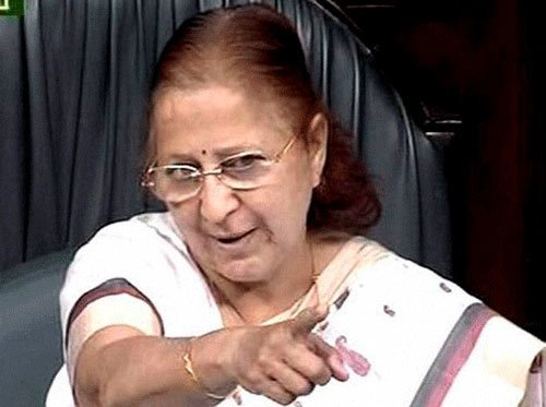 Speaker rejects Rahul's charge of 'bias'