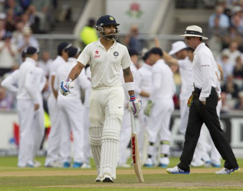 Indian top-order surrenders against English pace