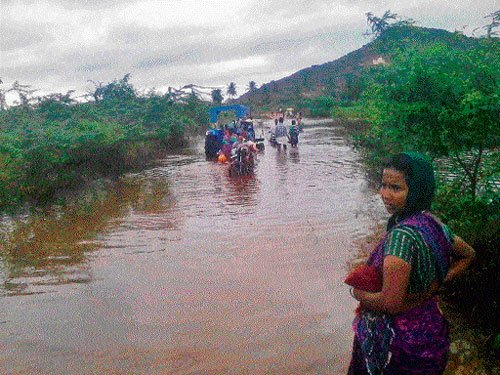 Rivers continue to be in spate in State