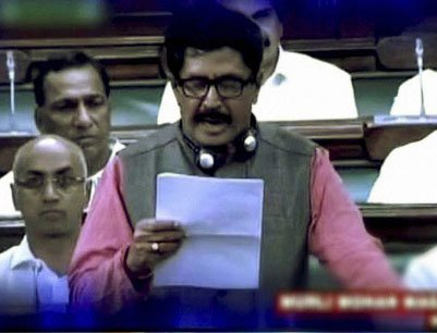 Uproar in RS over TDP MP's dress remarks