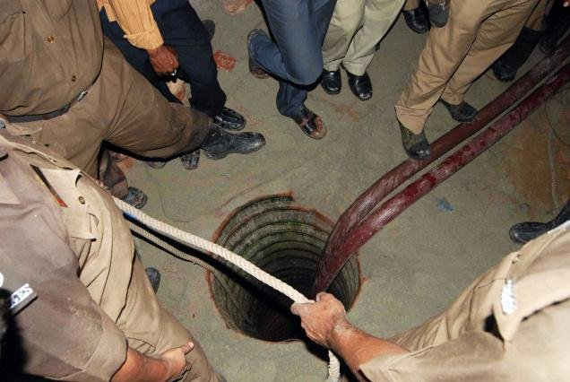 Ops to rescue boy from borewell halted as mother protests