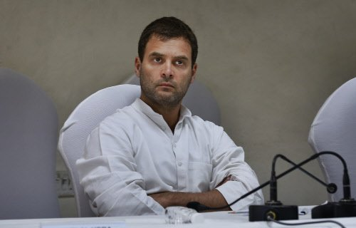 BJP hits out at Rahul, says Congress doing communal politics