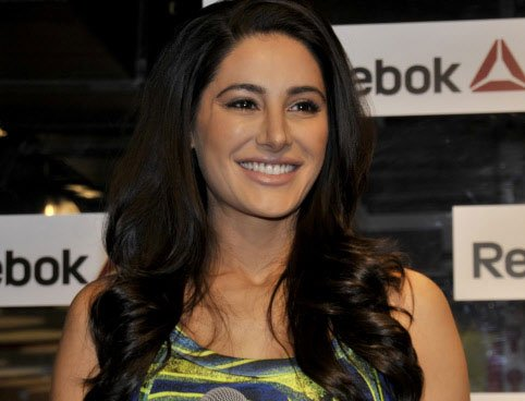 Nargis Fakhri's 'oops' moment on the ramp