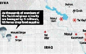 IS threatens to kill 300 Yazidi families
