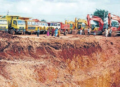 Efforts on to bring up body of boy who fell into borewell