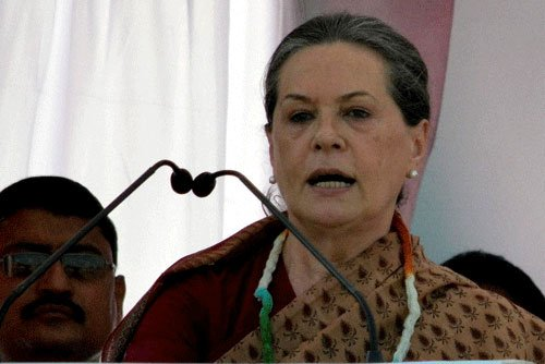 Sonia attacks NDA over communal violence