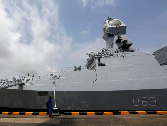 INS Kolkata's weapon system marred by delays
