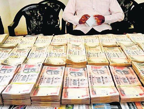 Rs 40L cash seized in Karwar