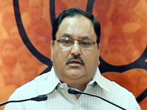 New BJP team will implement Modi's mission: Nadda