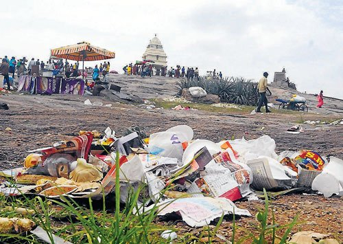 Floral delight turns into eyesore