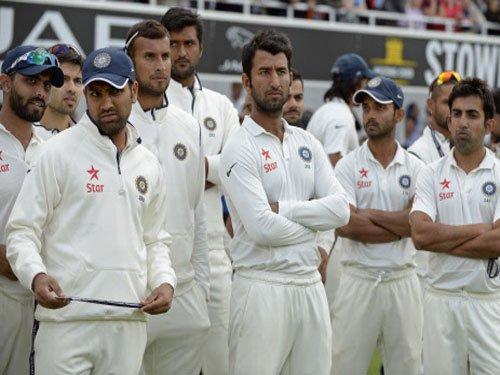 India shamed at Oval