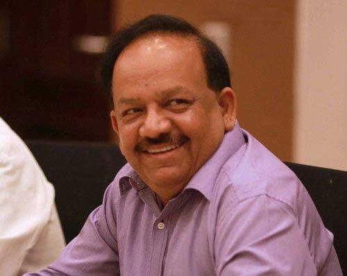 Harsh Vardhan says he wants to keep healthcare free of politics