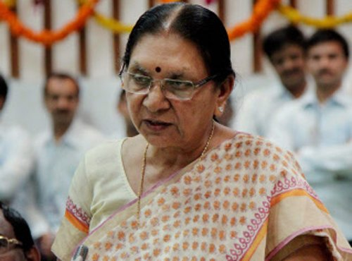 Guj by-elections to be litmus test for Anandi's leadership