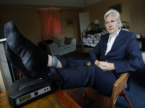 WikiLeaks founder Assange develops heart defect