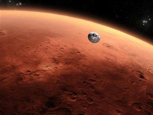 Martian structure reveals signs of life on Red Planet