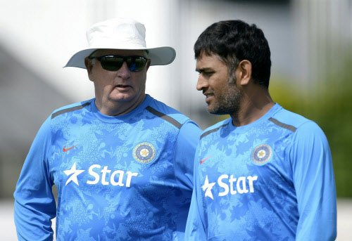 Fletcher, Dawes oversee Indian nets before ODI series