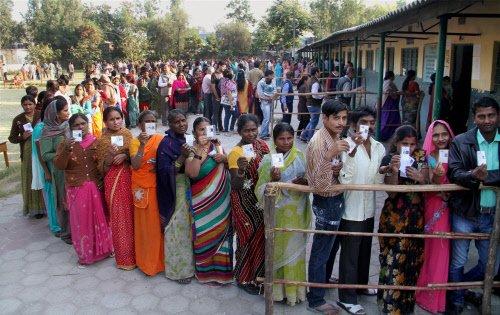 45 % polling in Patiala, 48 % in Talwandi Sabo till 1 PM