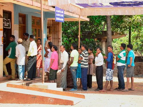 Peaceful but low polling in Bihar bypoll