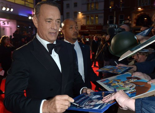 Tom Hanks' typewriter app No 1 on Apple iTunes