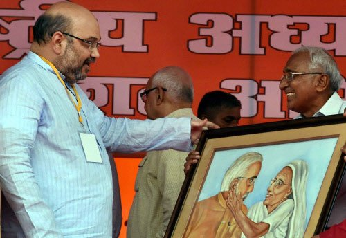 Modi, Shah working on age limit for BJP parliamentary board