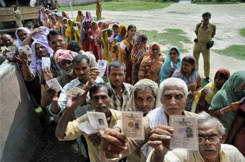 Low turnout in peaceful Bihar bypoll