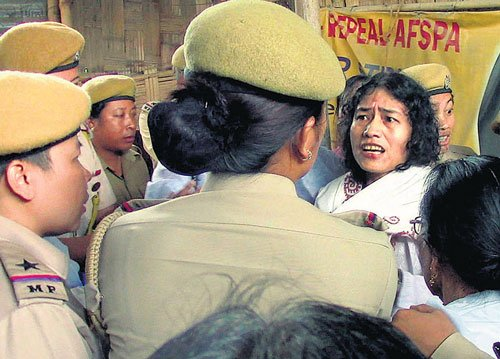 Irom Sharmila re-arrested for suicide attempt