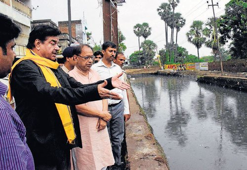 Ganga water level precarious in Bihar