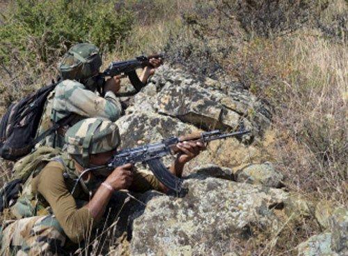 4 militants, 1 jawan killed in encounter in J-K
