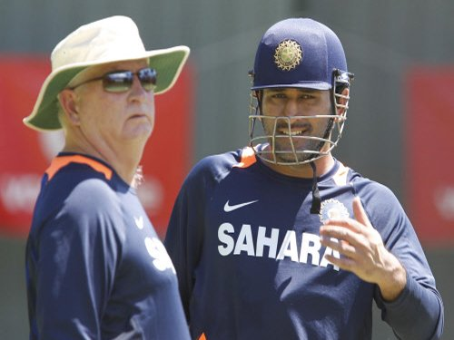 Fletcher is the boss of the team till World Cup: Dhoni