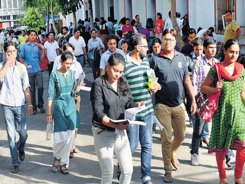 4.5 lakh appear for UPSC preliminary exam