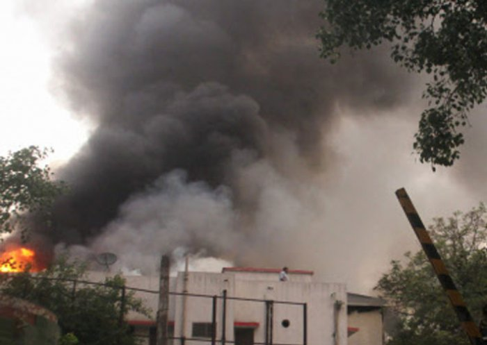 Fire breaks out in Delhi's Connaught Place