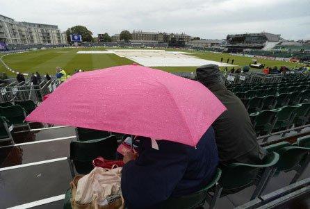 Rain ruins first one-day international